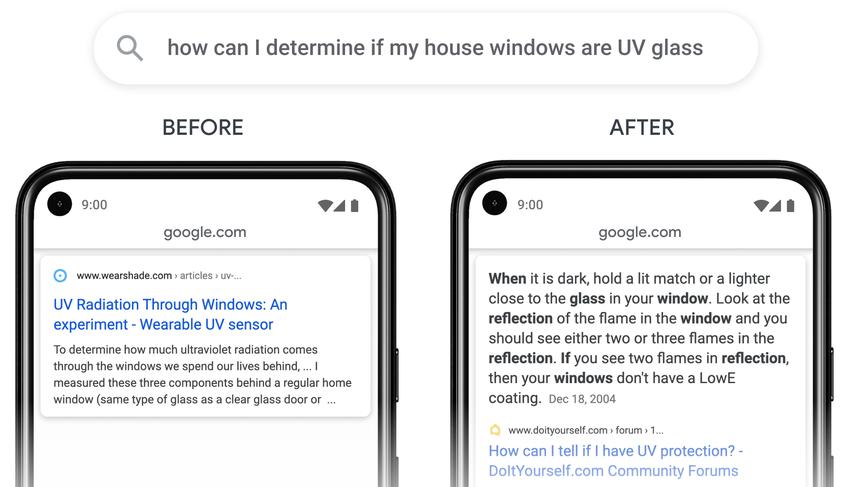 Google Search Updates for October-November 2020