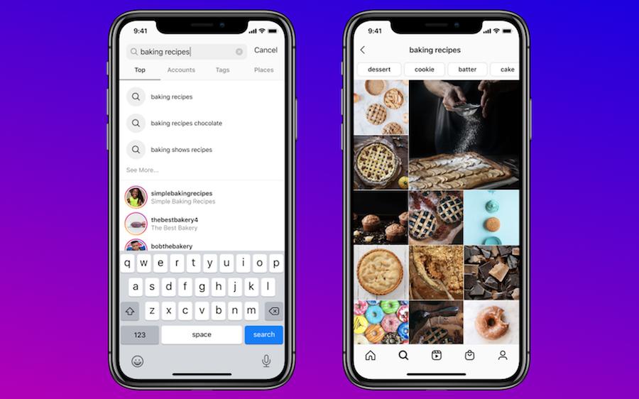 Instagram Keyword Search Update 2020